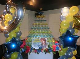 歌舞伎町ホストクラブNoelのイベント「🌟桜木 瑠偉 幹部補佐🌟 Birthday イベント♪」の様子