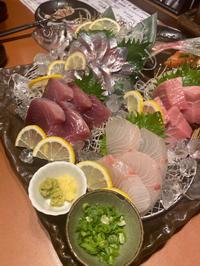 この間食べに行ったご飯〜お魚すき🐟の写真