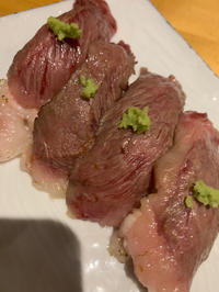 肉寿司☺️の写真