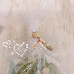 大好きなめぐさんから手作りお菓子貰いました〜😆💕の写真1枚目