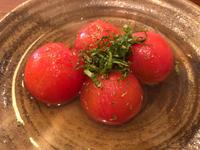 前に食べたトマトのおひたしが美味しくての写真