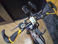 自転車の部品の写真