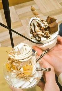友達とソフトクリーム食べてきた🍦✨の写真