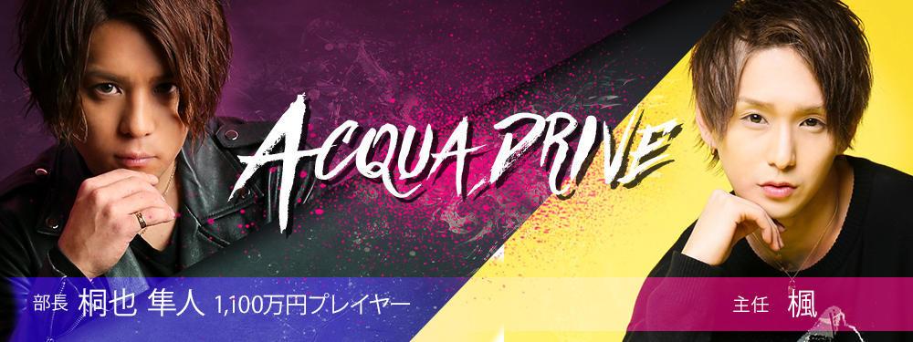 歌舞伎町ホストクラブACQUA -Drive-(アクアドライブ)メインビジュアル