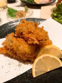 昨日はおいしいご飯を食べさせていただきました!小学生の頃以来の牡蠣!の写真