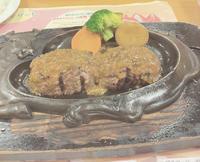 久しぶりにさわやかのハンバーグ食べてきました〜😊✨の写真