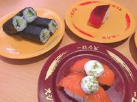 今日は高校からの友達とお寿司食べに来ました!💞の写真
