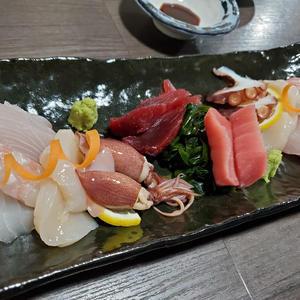 久々に美味しいお刺身食べれた😭❤️の写真1枚目