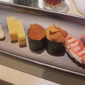 この間食べたお寿司🍣の写真1枚目