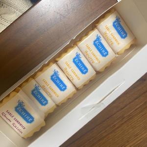 渋谷スクランブルスクエアで行列ができてるバターのお菓子を貰いました😊✨の写真2枚目