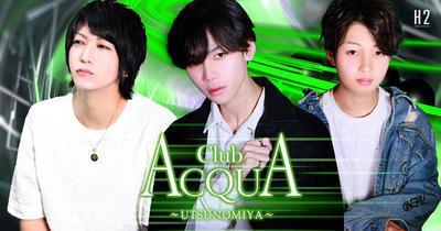 宇都宮}ホストクラブ「ACQUA ~UTSUNOMIYA~」のメインビジュアル