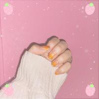 テンション上げるために爪可愛くしました👼🏻の写真