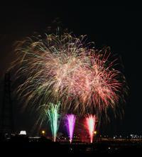 足立の花火見てきたよ🎆の写真