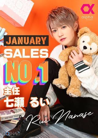 1月度売上ナンバー1